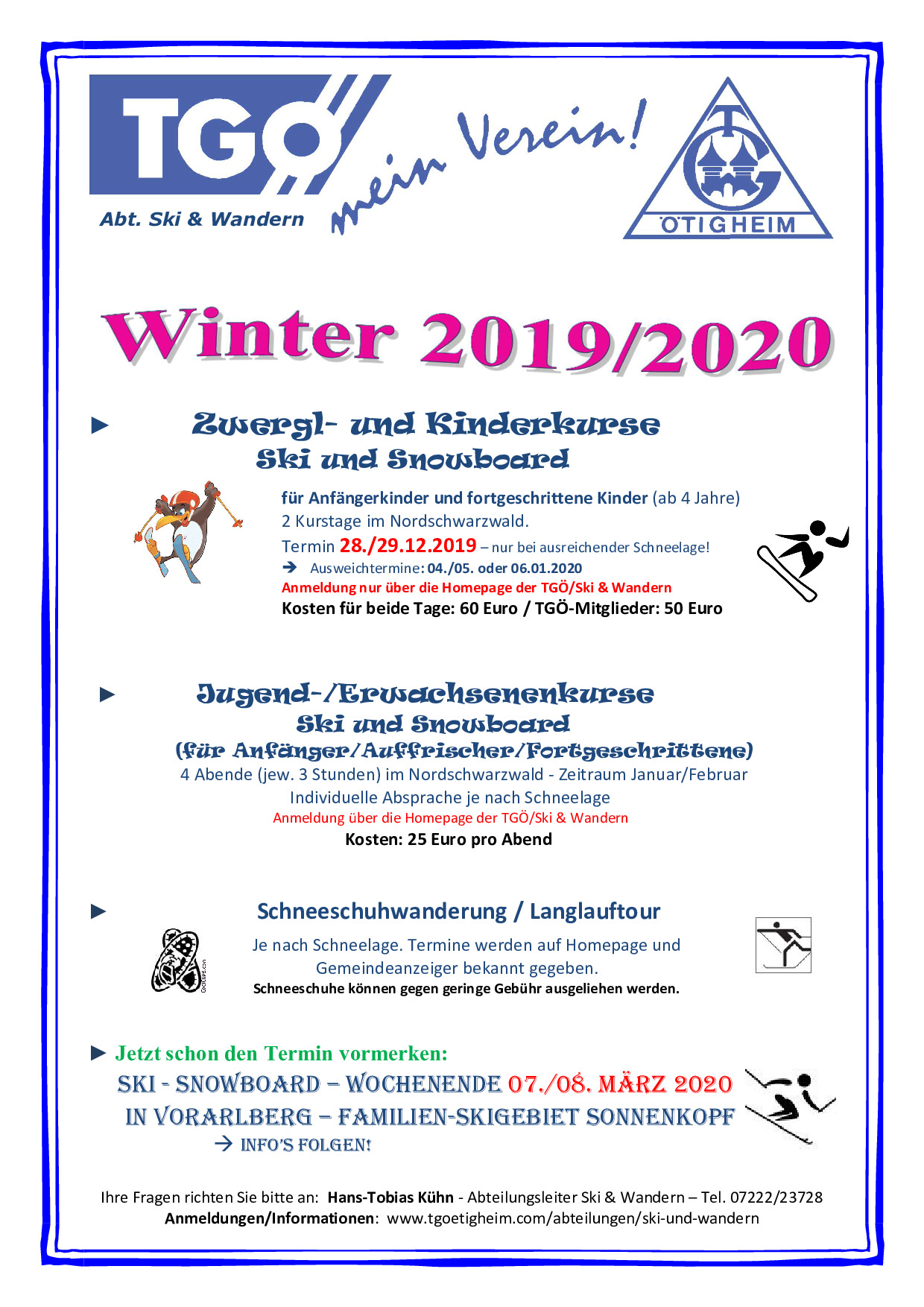 Flyer Winterprogramm 2019 2020